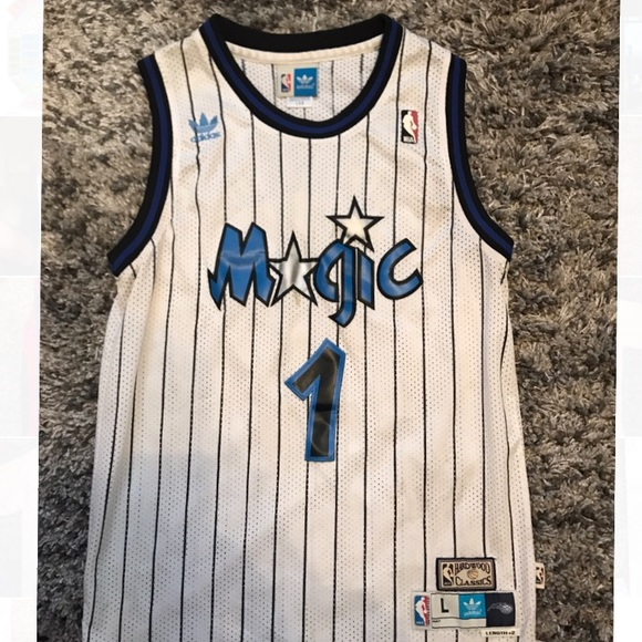 100% authentic 24591 0d6bd Tracy McGrady Orlando Magic Jersey